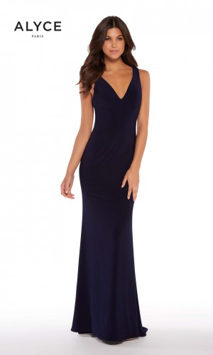 Alyce Paris 60009-B Strappy Back Formal Gown
