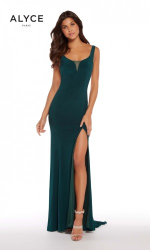Alyce Paris 60011 Scoop Neck Prom Gown
