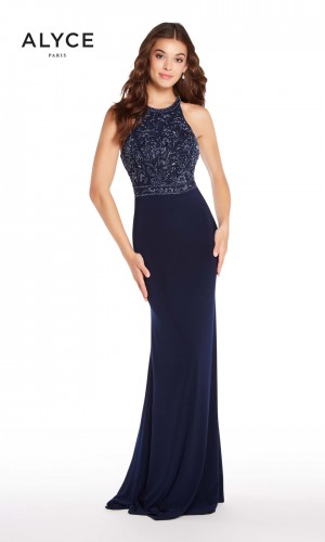 Alyce Paris 60023 Racerback Long Party Dress