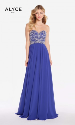 Alyce Paris 60045 Sweetheart-Neck Prom Dress
