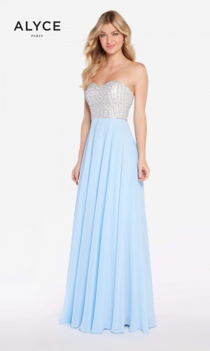Alyce Paris 60047 Strapless Long Party Dress