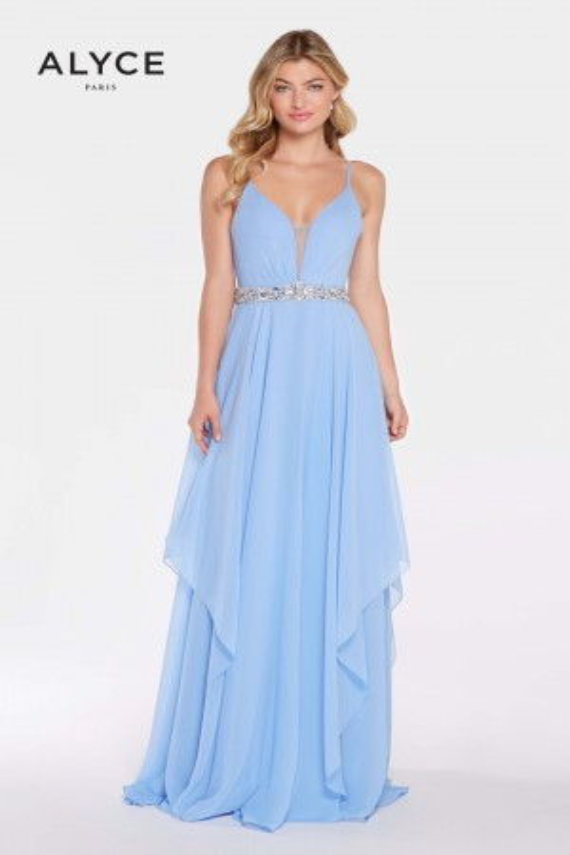 Alyce Paris 60092 Tiered Skirt Prom Dress