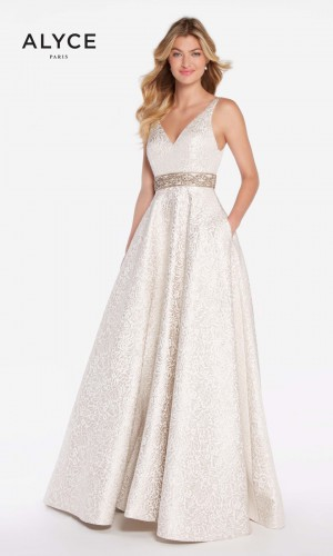 Alyce Paris 60121 Open Back Prom Gown