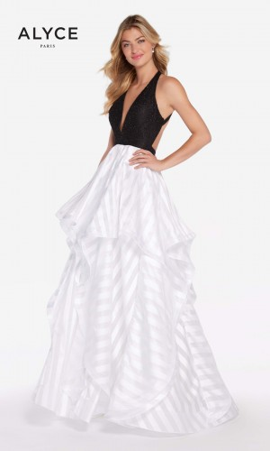 Alyce Paris 60148 Tiered Skirt Formal Gown