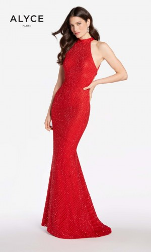 Alyce Paris 60155 Strappy Back Formal Gown