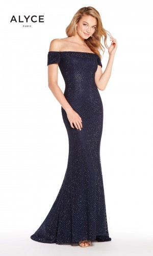Alyce Paris 60157 Off-The-Shoulder Prom Gown