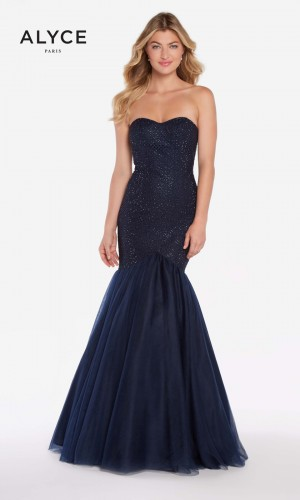 Alyce Paris 60159 Trumpet-Style Prom Gown