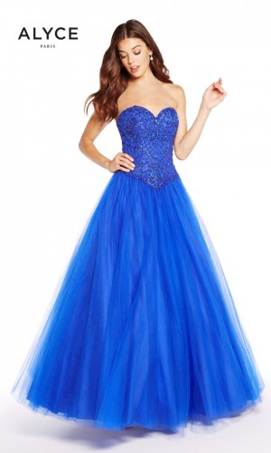 Alyce Paris 60205 Sweetheart-Neck Formal Gown