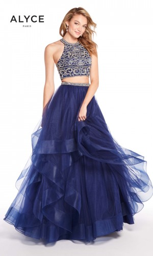 Alyce Paris 60209 Strappy Back Prom Gown