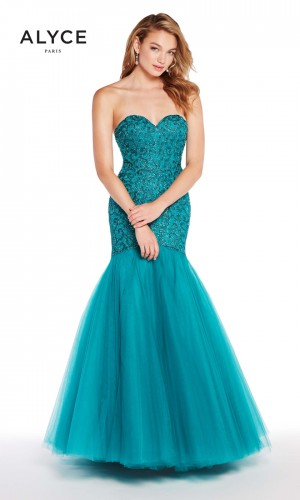 Alyce Paris 60229 Sweetheart-Neck Formal Gown