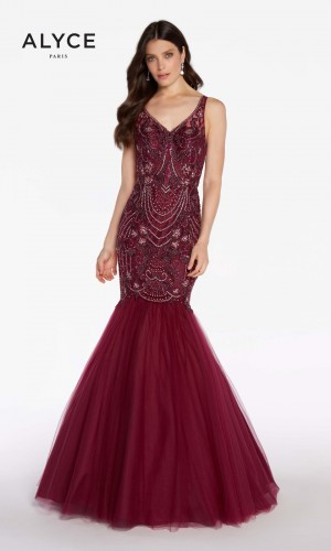 Alyce Paris 60231 V-Neck Formal Gown