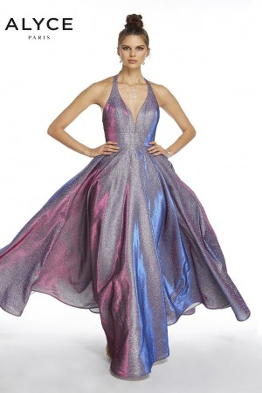 1002843e80c0 Alyce Paris 60568 Halter Neck Prom Dress