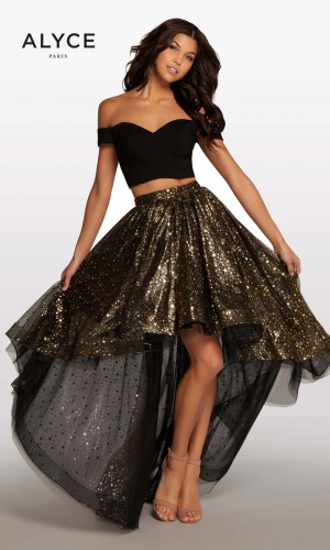 Alyce Paris KP121 High-Low Prom Gown