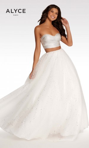 Alyce Paris KP124 Sweetheart-Neck Prom Dress