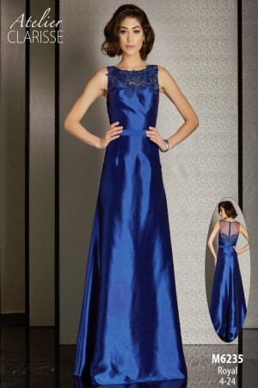 Clarisse Atelier M6235 A-Line Silhouette Formal Dress