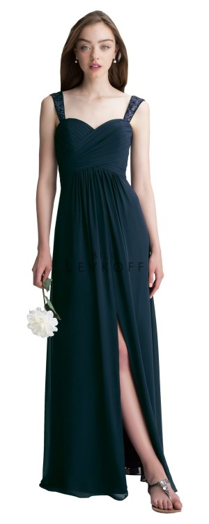 Bill Levkoff 1413 Chiffon Sweetheart Bridesmaid Dress
