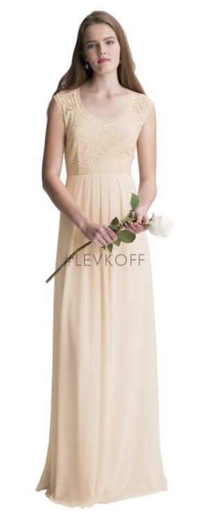 Bill Levkoff 7011 Chiffon Round Bridesmaid Dress