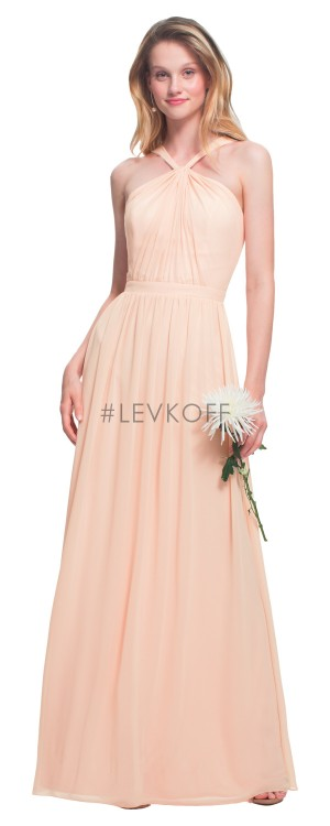 Bill Levkoff 7025 Halter-Neck Bridesmaid Dress
