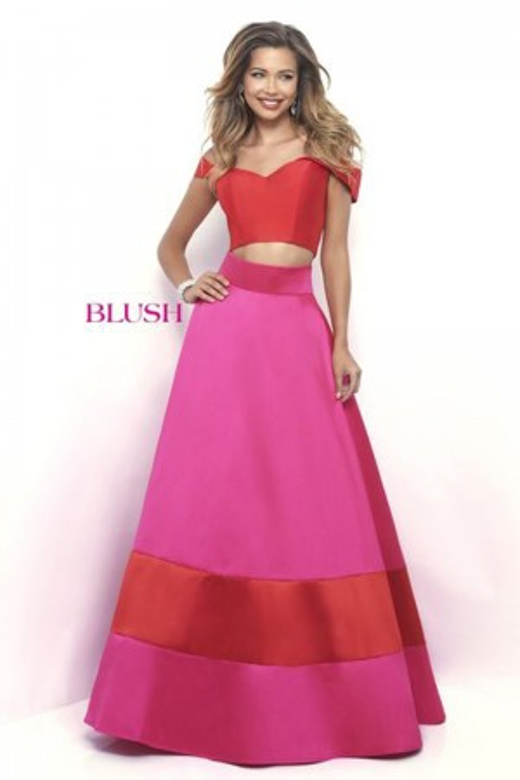 Blush Ballgown 5623 Prom Dress