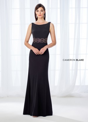 Cameron Blake 118662 V-Back Evening Dress