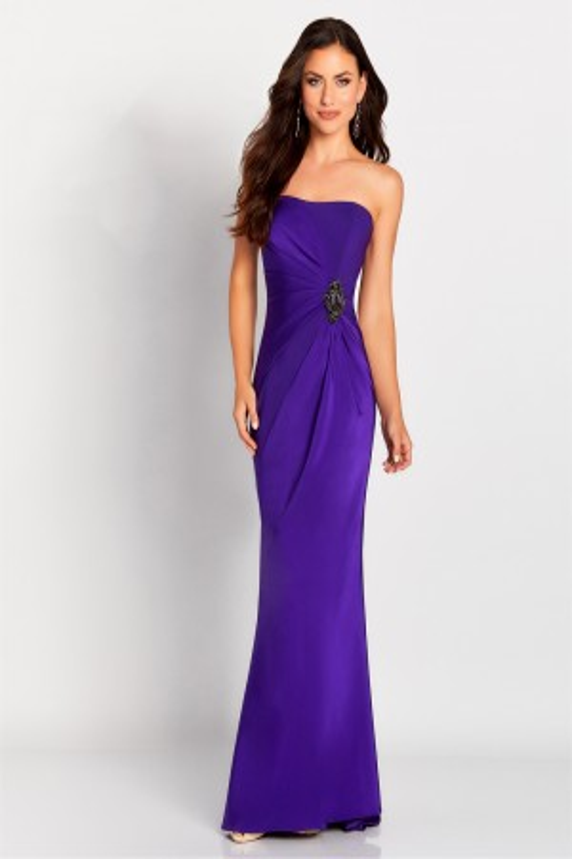 076eea0323fb Cameron Blake 119650 Strapless Evening Gown