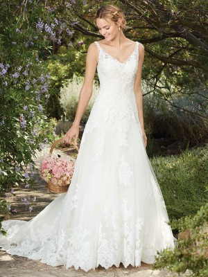 Casablanca Bridal 2269 Plumeria Wedding Dress