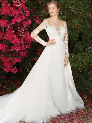 Casablanca Bridal 2270 Wisteria Wedding Dress
