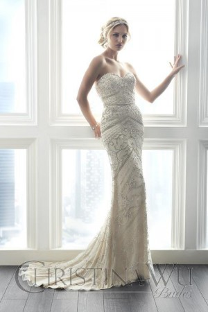 Christina Wu 15615 Wedding Dress