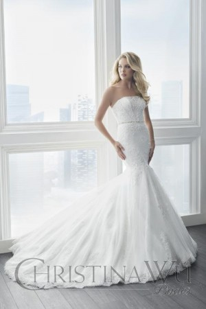 Christina Wu 15618 Wedding Dress
