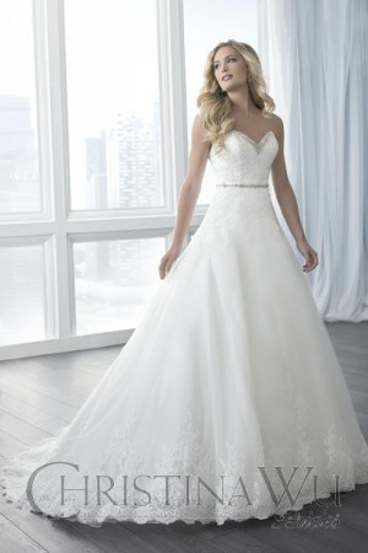 Christina Wu 15619 Wedding Dress