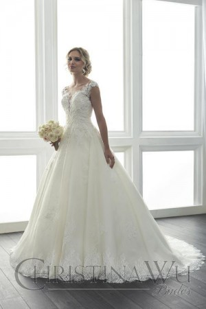 Christina Wu 15626 Wedding Dress