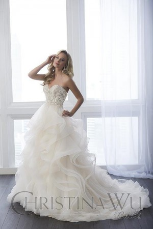 Christina Wu 15638 Wedding Dress