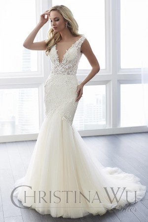 Christina Wu 15643 Wedding Dress