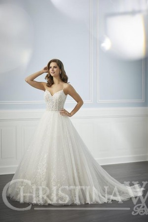 5d85344a51d3 Christina Wu 15707 Open Back Bridal Dress