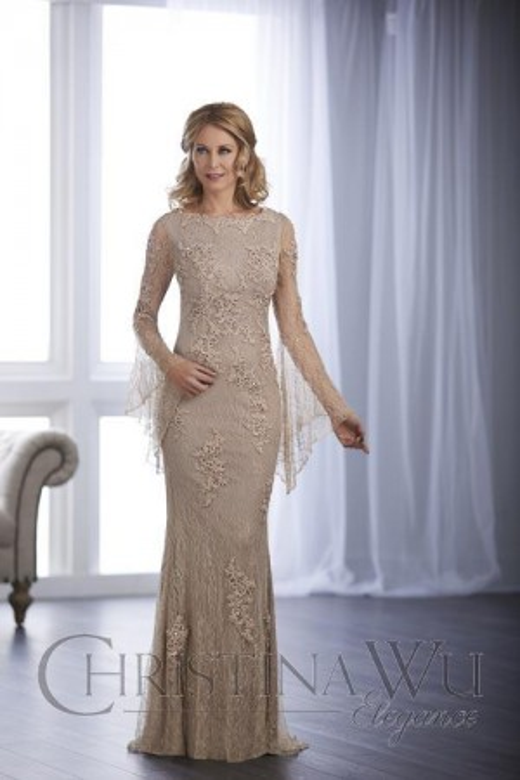 Christina Wu 17847 Evening Dress