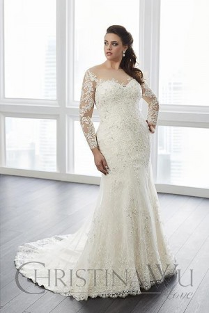 036bc1f807b7 Plus Size Wedding Dresses | Long, Short and Tea Lenght Bridal Gowns