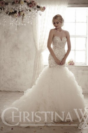 Christina Wu 15589 Wedding Dress