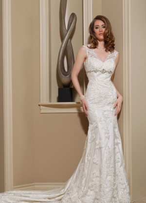 Da Vinci 50144 Ready to Ship Wedding Dress