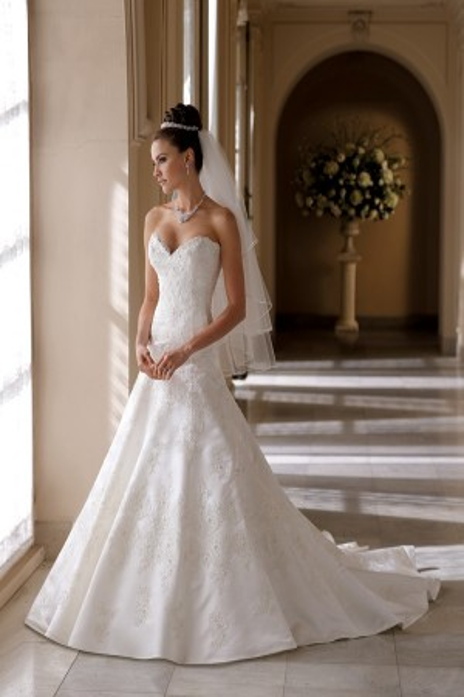 Martin Thornburg for Mon Cheri 113215 Helen Wedding Dress