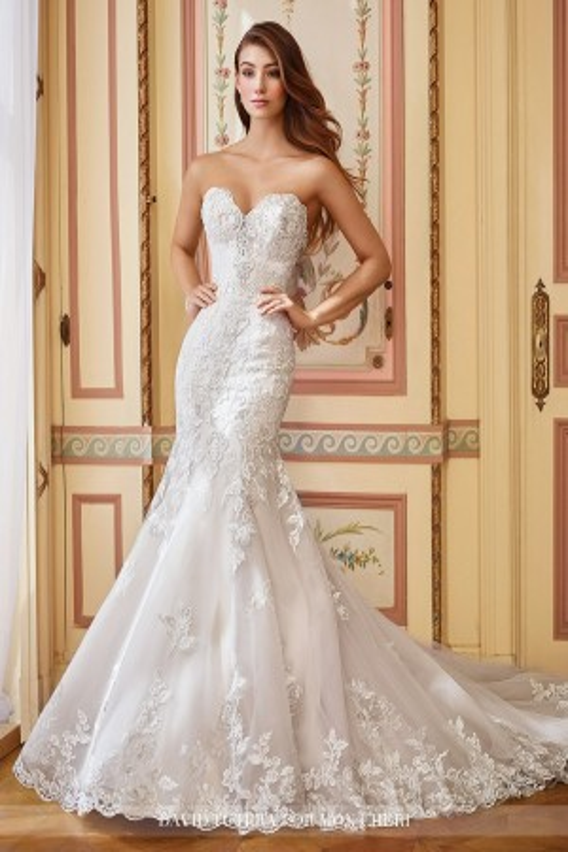 David Tutera 117284 Danae Wedding Dress
