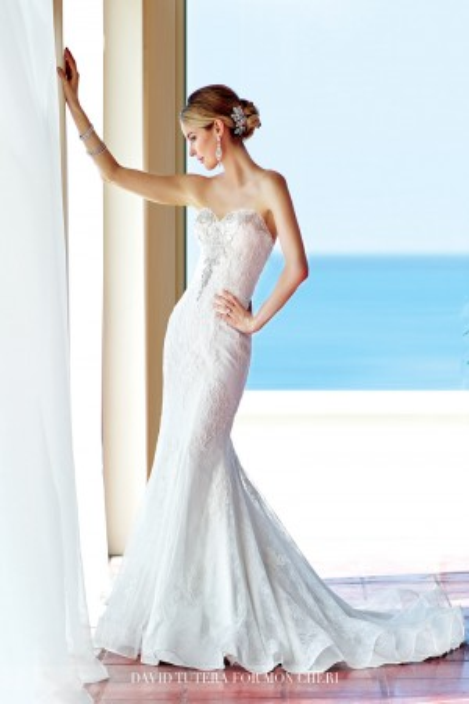 Martin Thornburg for Mon Cheri 216253 Marina Bridal Gown