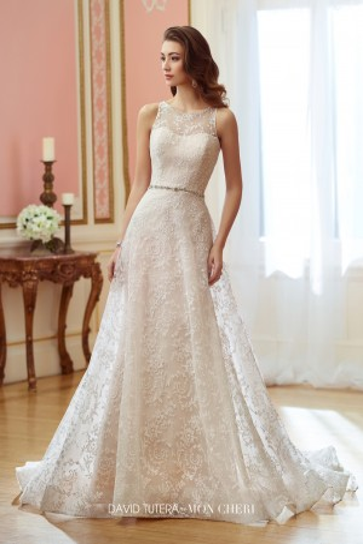 Martin Thornburg for Mon Cheri 217203 Mae Wedding Dress