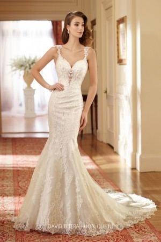 Martin Thornburg for Mon Cheri 217206 Susie Wedding Gown