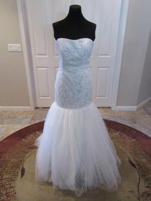 Dessy 1045 Ready to Ship Wedding Dress