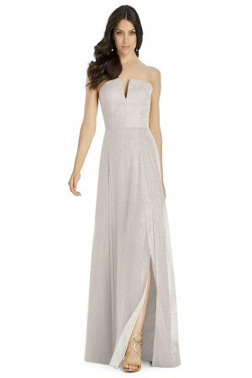 a9a8a17bf8baf Dessy 3041LS Strapless Bridesmaid Dress