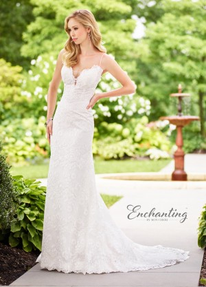 Enchanting by Mon Cheri 118149 Sweetheart-Neck Destination Wedding Gown