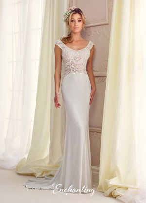 Enchanting by Mon Cheri 217104 Wedding Dress