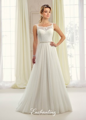 Enchanting by Mon Cheri 217105 Wedding Dress