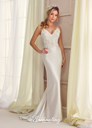 Enchanting by Mon Cheri 217110 Wedding Dress