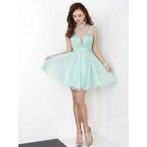 Hannah S 27059 Plunging Sweetheart Bodice Dress